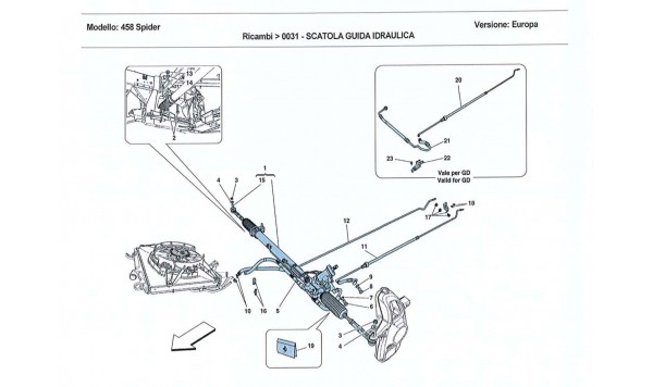 HYDRAULIC POWER STEERING BOX