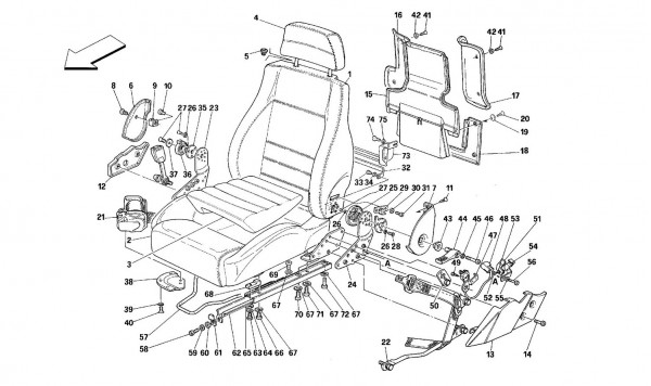 SEATS AND SAFETY BELTS -Valid for USA-