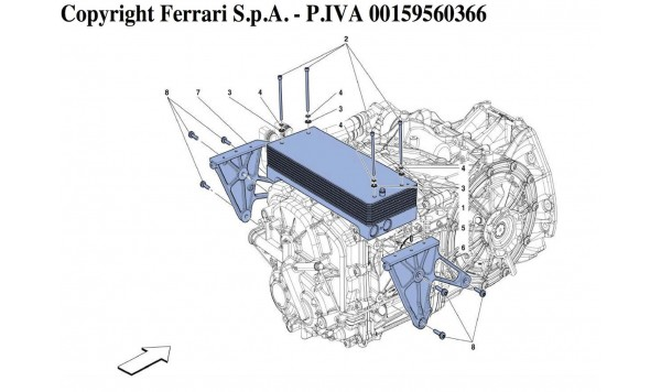 GEARBOX OIL COOLING RADIATORS