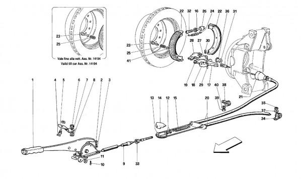 Hand - brake control