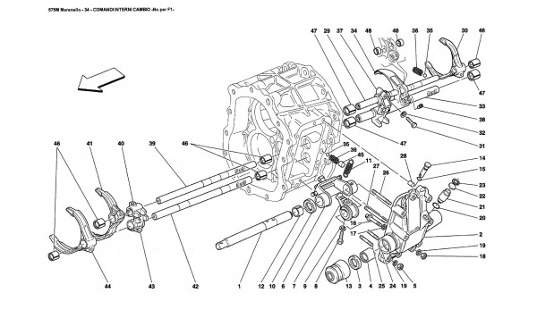 INSIDE GEARBOX CONTROLS -Not for F1-