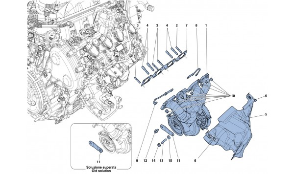 MANIFOLDS TURBOCHARGING SYSTEM AND PIPES