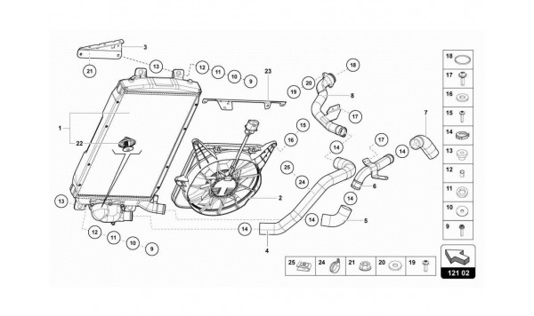 022 WATER COOLING SYSTEM