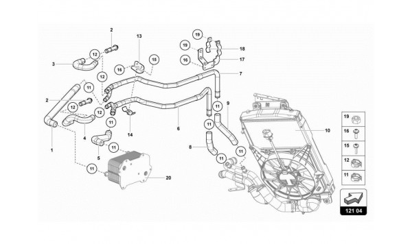 024 WATER COOLING SYSTEM