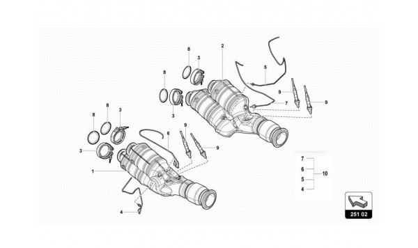 043 EXHAUST SYSTEM