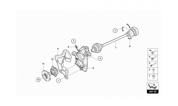 055 FRONT DRIVE SHAFT