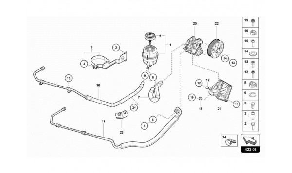 062 POWER STEERING - VANE PUMP
