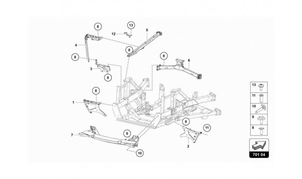 081 REAR FRAME ELEMENTS