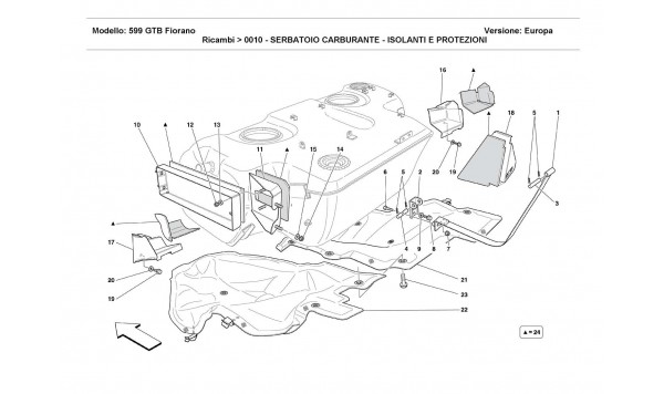 FUEL TANK -INSULATION AND PROTECTION