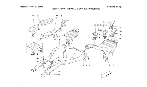 REAR EXHAUST SYSTEM