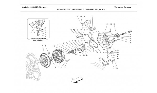 CLUTCH AND CONTROLS -Not for F1 -