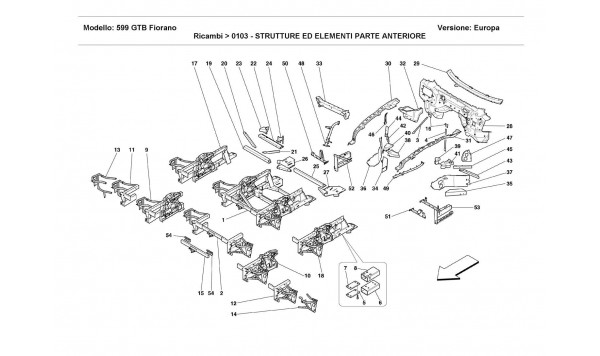 FRONT STRUCTURES AND COMPONENTS