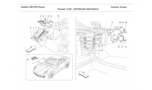 TRUNK BOTTOM CONTROL STATIONS