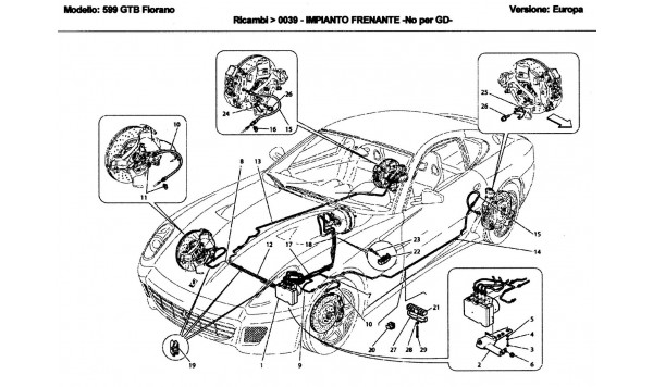BRAKE SYSTEM -Not for GD-