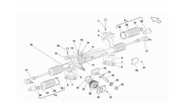 066 Steering Rack