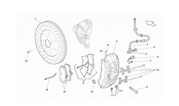 077 Front Brakes Discs