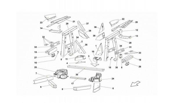 087 Rear Frame Elements