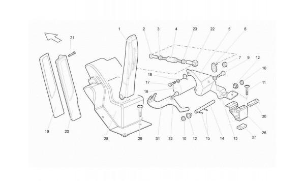 096 Accelerator Pedal (manual)