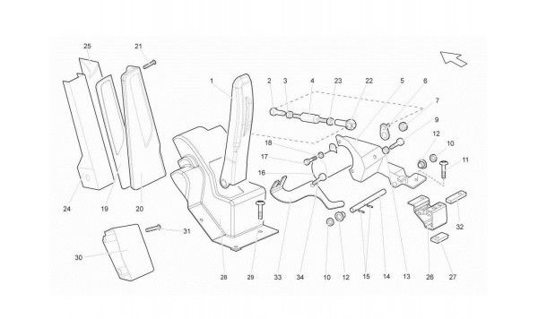 097 Accelerator Pedal (e-gear)