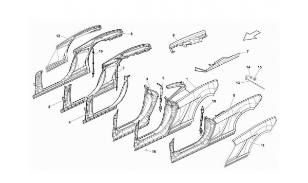 078 Lateral Frame Attachments