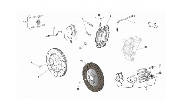 071 REAR BRAKES DISCS STD/CCB