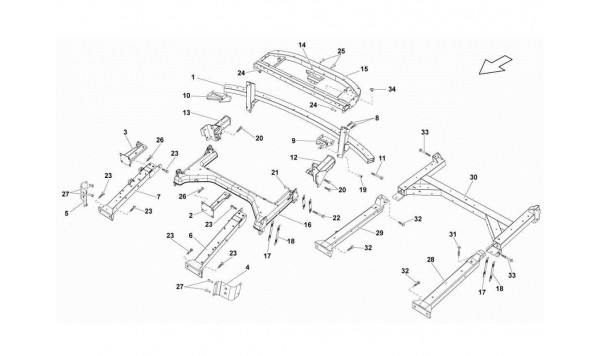 084 REAR FRAME ATTACHMENTS