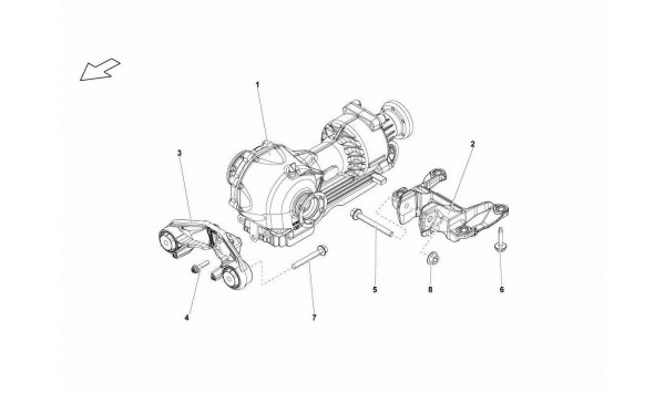 049 Front Differential Assembly