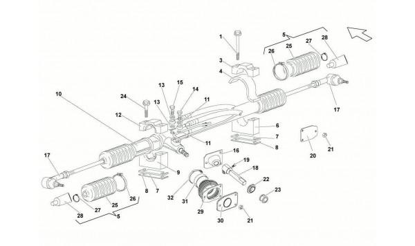 052 Steering Rack