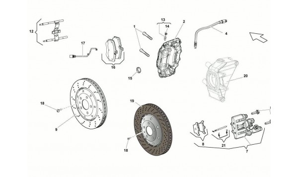 064 Rear Brakes Discs STD/CCB