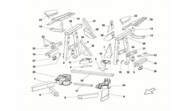 074 Rear Frame Elements