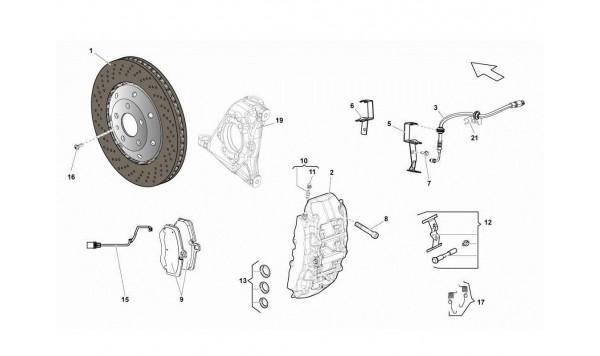 069 Front Brakes Discs Ccb