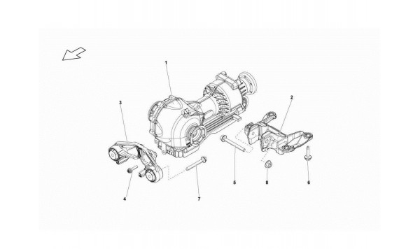 052 Front Differential Assembly