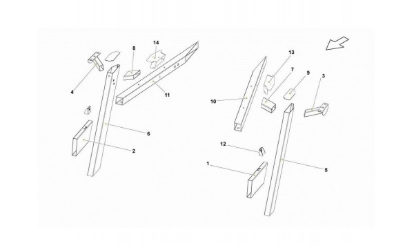078 Rear Frame Elements