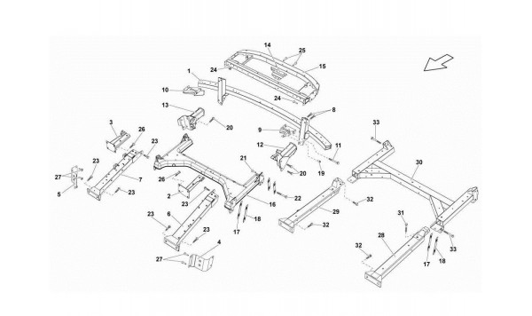 081 Rear Frame Attachments