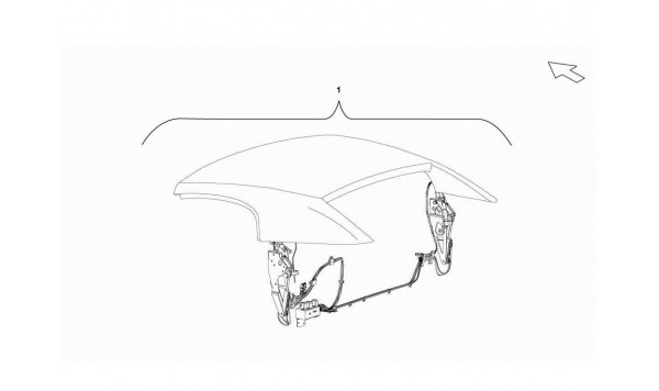 125 Roof Panel Soft Top