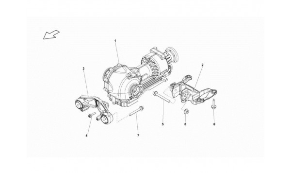 057 FRONT DIFFERENTIAL ASSEMBLY