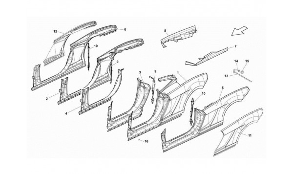 086 REAR FRAME ATTACHMENTS