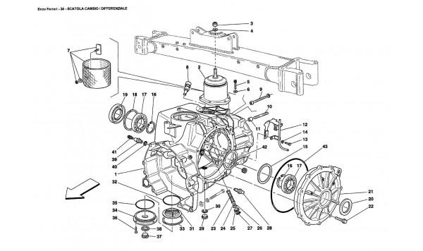 GEARBOX / DIFFERENTIAL HOUSING