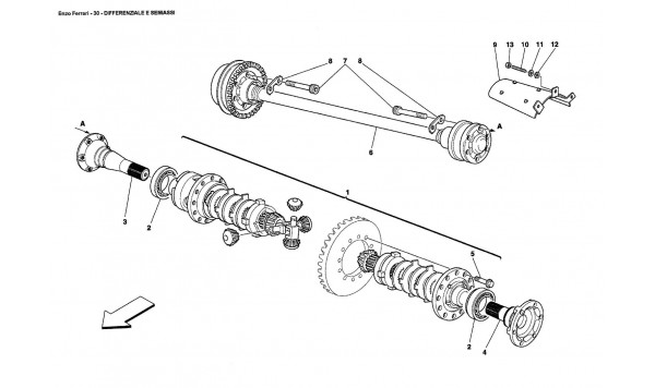 DIFFERENTIAL AND AXLE SHAFTS