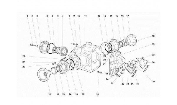038 26.01.00-REAR DIFFERENTIAL CASE