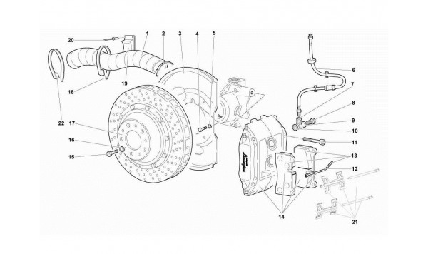 041 31.01 .OO-FRONT BRAKES