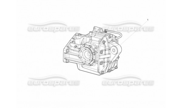 500 Rear Differential Assembly