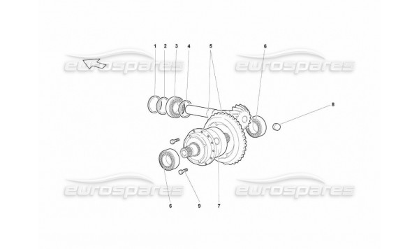 517 Rear Differential