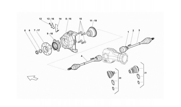 050 Front Drive Shaft