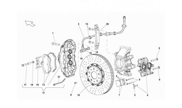 075 Rear Brakes - Carboceramic
