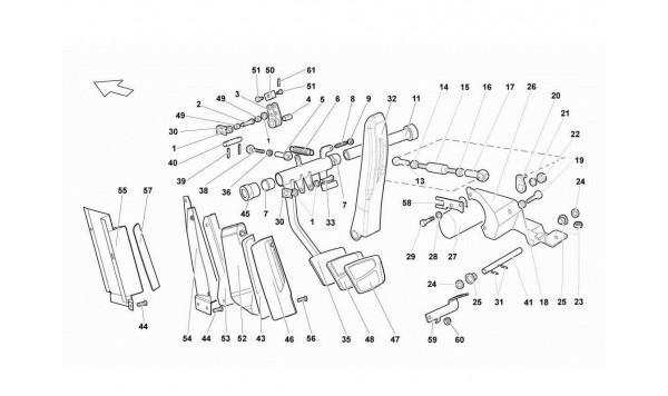 078 E-gear Control Pedal