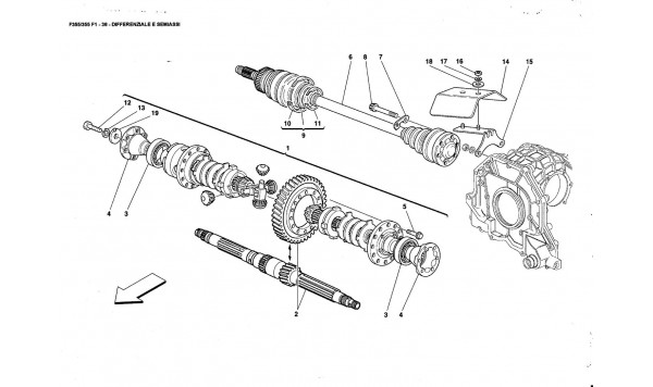 DIFFERENTIAL ANO AXLE SHAFTS