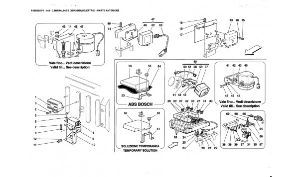 ELECTRICAL BOARDS AND DEVICES - FRONT PART