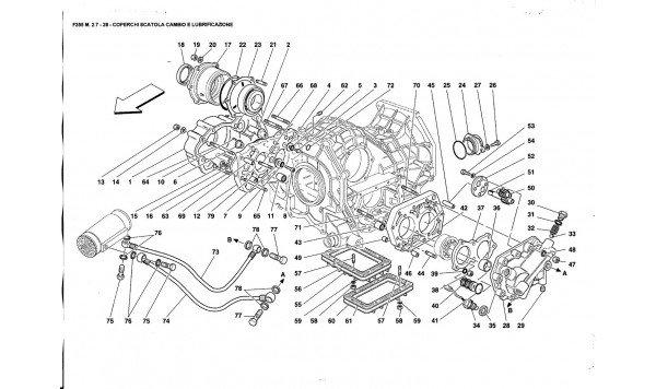 GEARBOX COVERS ANO LUBRICATION