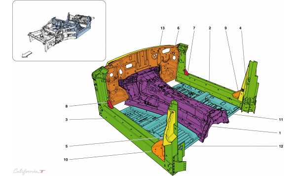 STRUCTURES & ELEMENTS, CENTRE OF VEHICLE